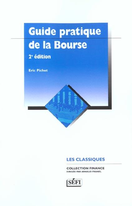Guide pratique de la bourse ; 2e edition