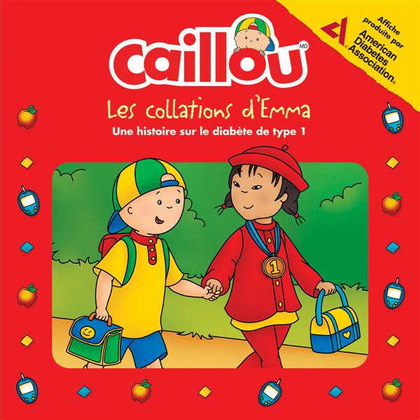 Caillou ; Les Collations D'Emma