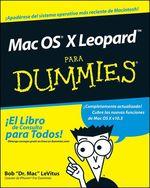 Vente Livre Numérique : Mac OS® X LeopardTM Para Dummies®  - Bob LEVITUS