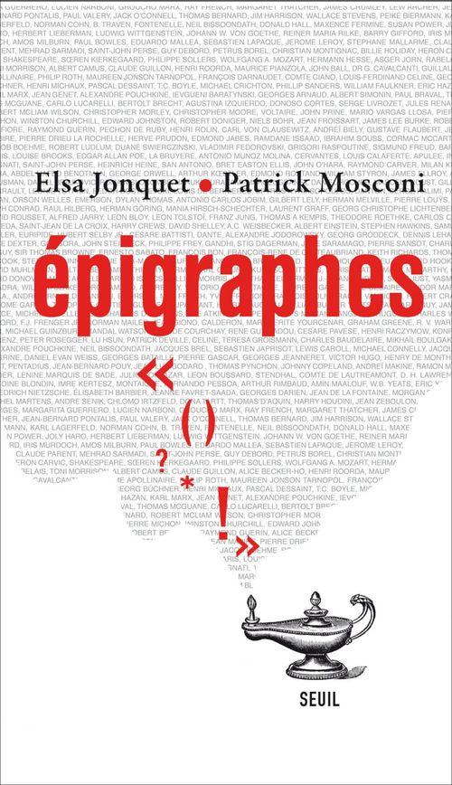épigraphes
