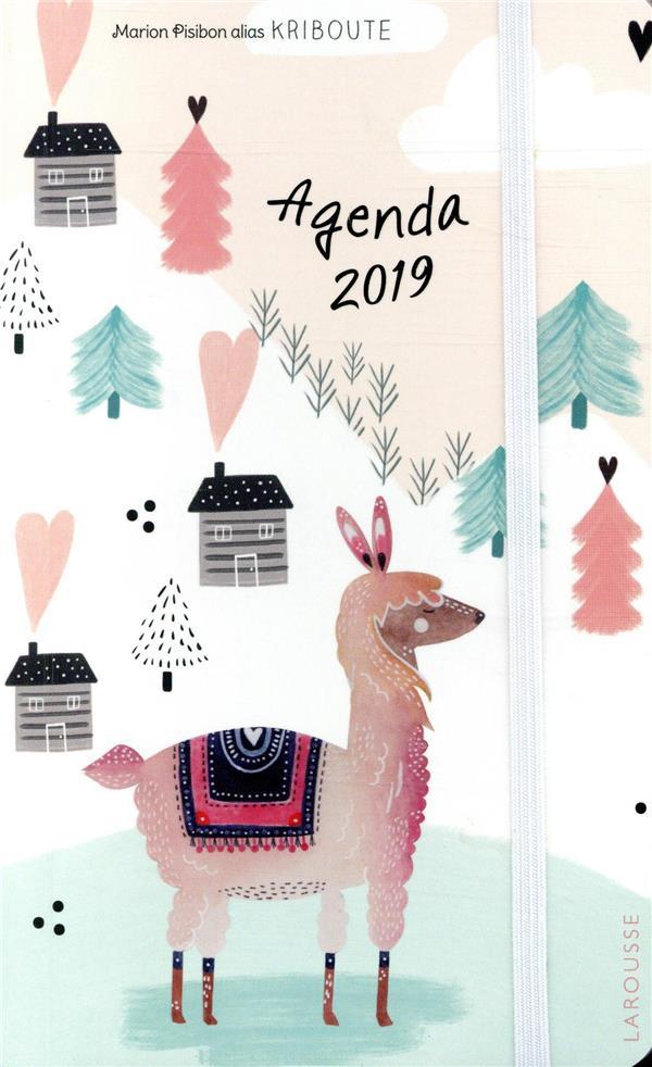 L'agenda illustré par Kribouté (édition 2019)