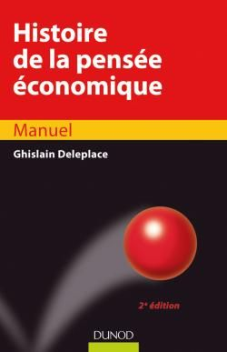 Histoire De La Pensee Economique - 2eme Edition