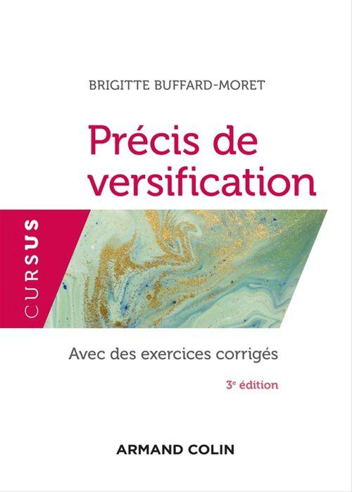 Précis de versification (3e édition)