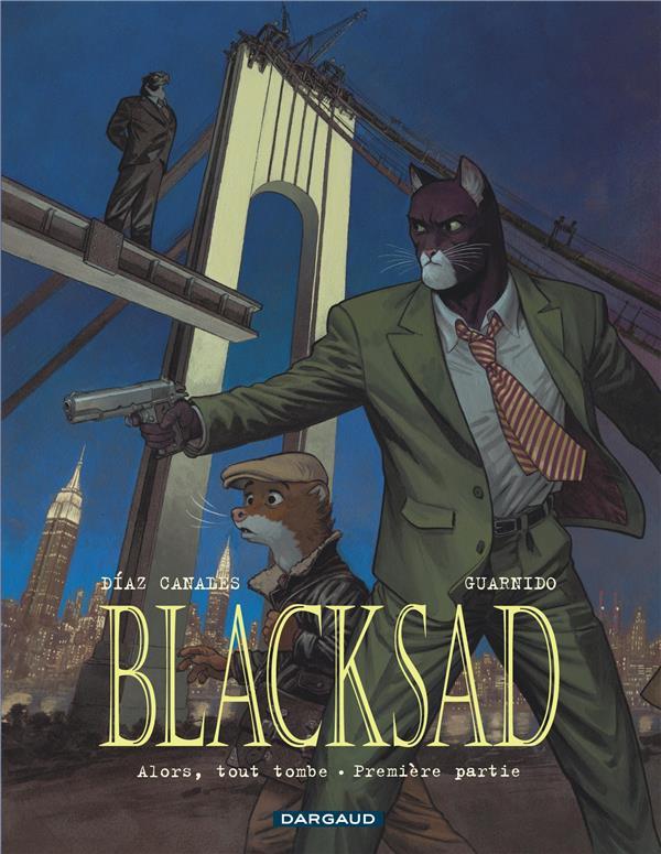 Blacksad t.6 ; alors, tout tombe première partie