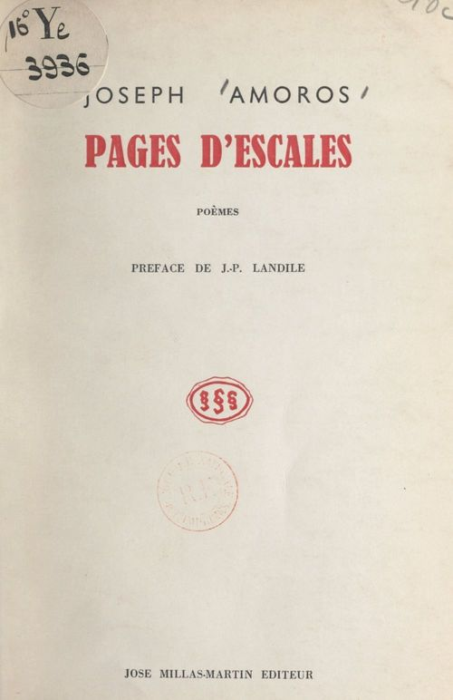 Pages d'escales