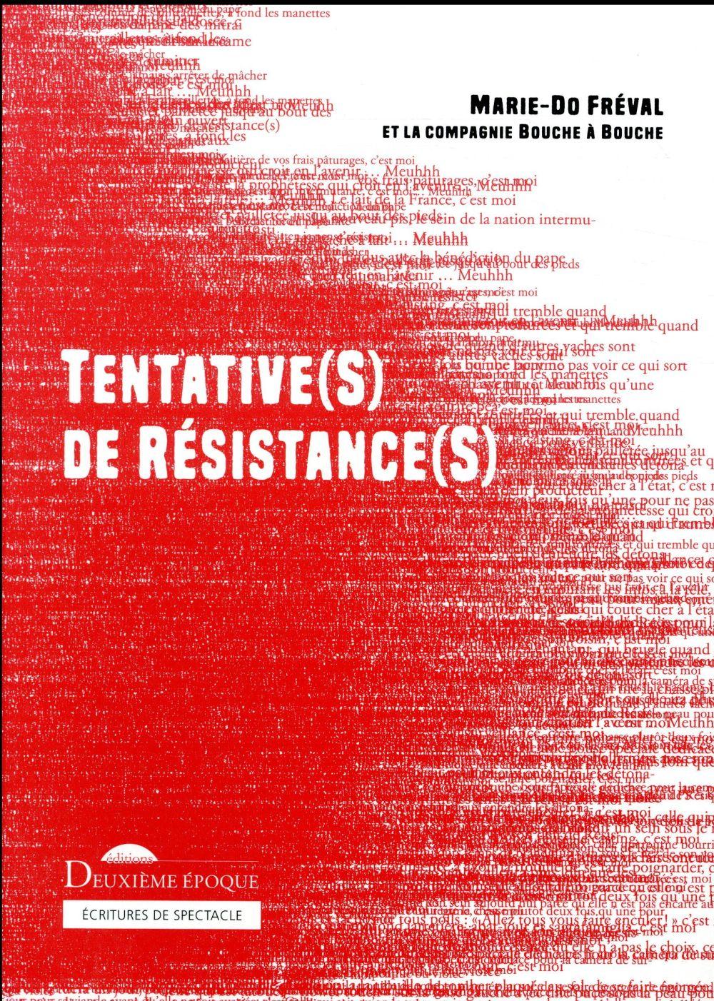 Tentative(s) de résistance(s)