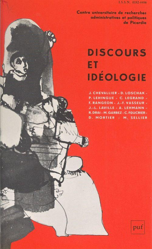 Discours et idéologie