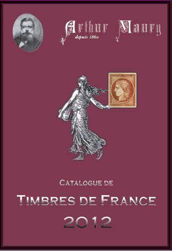 Catalogue de timbres de France (édition 2012)