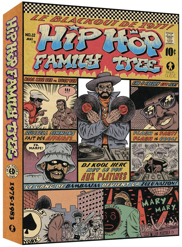 Hip hop family tree ; COFFRET T.1 ET T.2 ; 1975-1983