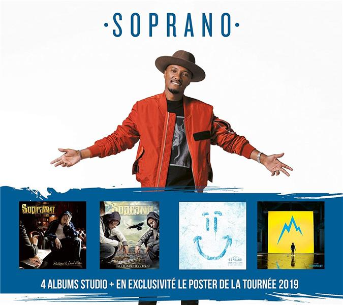 coffret 4 CD 2019