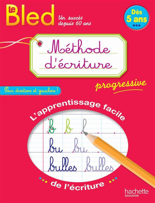 BLED ; méthode d'écriture dès 5 ans
