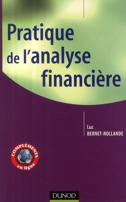 Pratique De L'Analyse Financiere