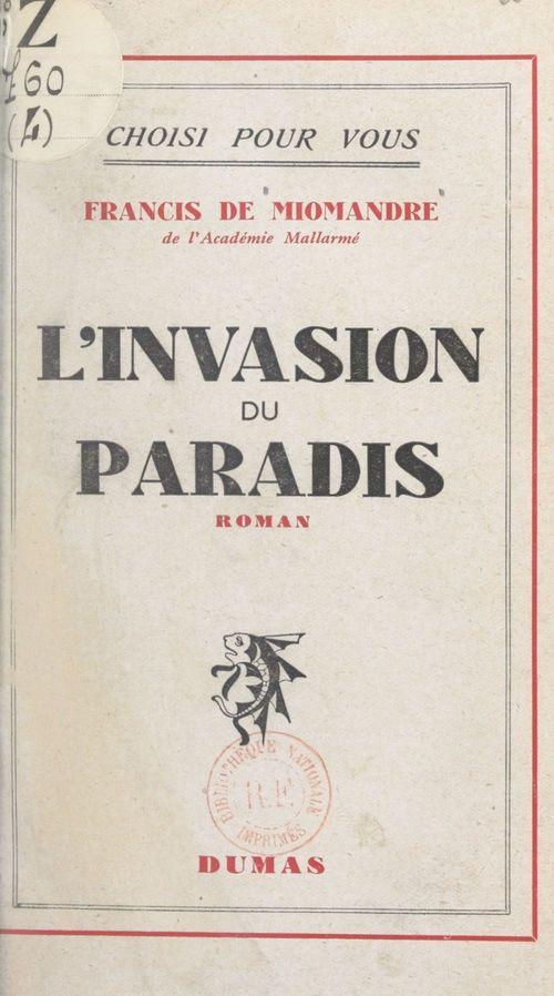 L'invasion du paradis