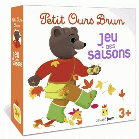 Petit ours brun ; le jeu des saisons