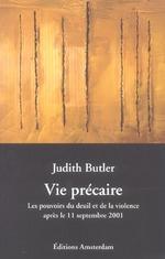Couverture de Vie Precaire - Pouvoirs Du Deuil Et De La Violence