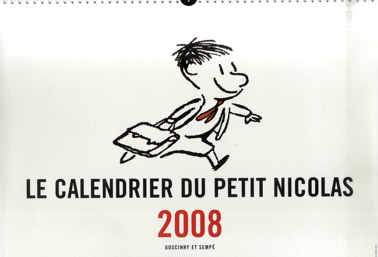 Le calendrier du petit Nicolas (édition 2008)