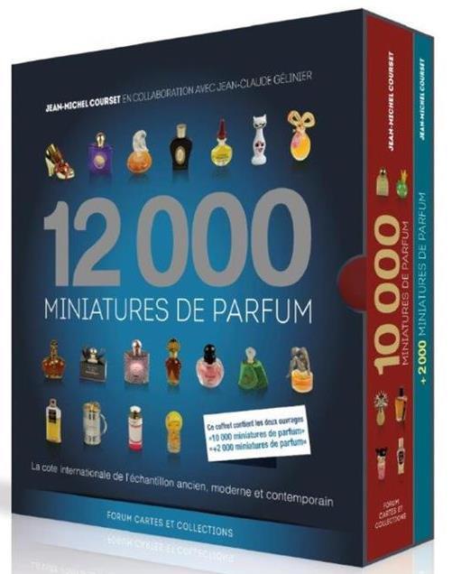 12000 miniatures de parfum ; coffret