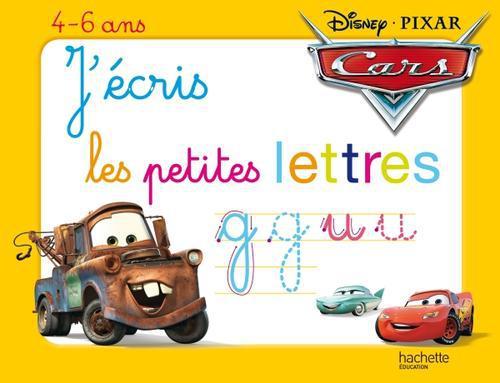 J'Ecris Les Petites Lettres Avec Cars ; Ardoise