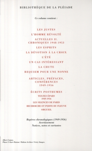 Oeuvres complètes t.3 ; 1949-1956