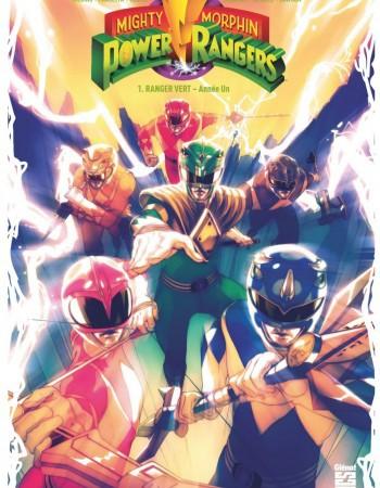 Power Rangers - mighty morphin T.1 ; Ranger vert, année un