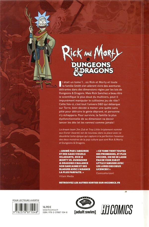 Rick & Morty VS. Dungeons & Dragons T.2 ; Peinescape