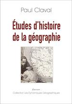 Études d'histoire de la géographie