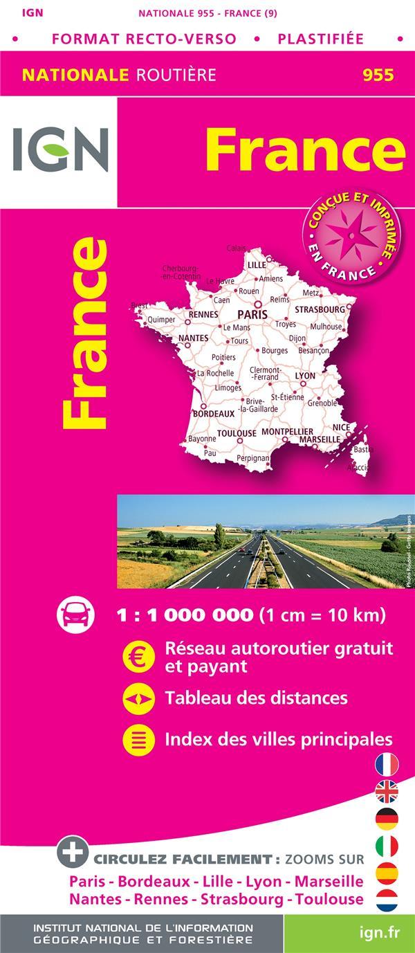1M955 ; France (9e édition)