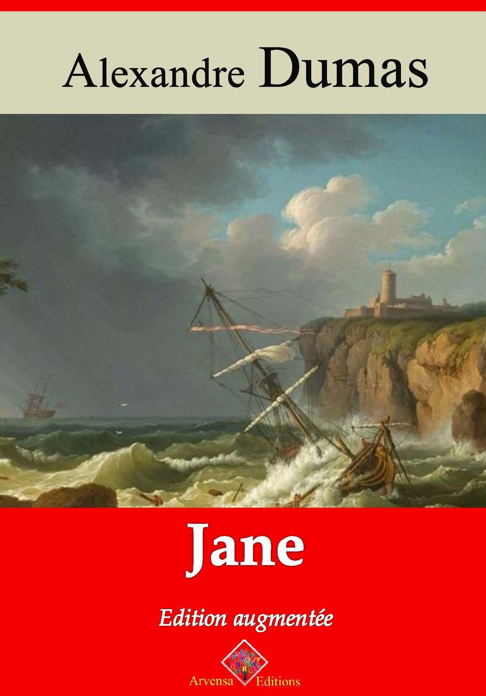 Vente EBooks : Jane - suivi d'annexes  - Alexandre Dumas 1802-1870