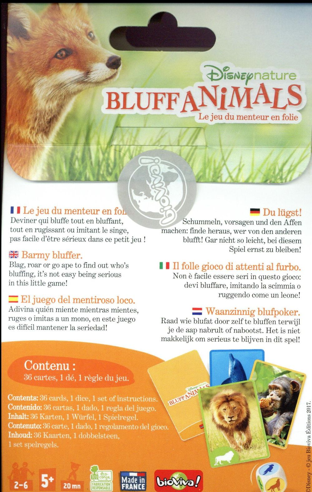 Disney nature ; bluff animals
