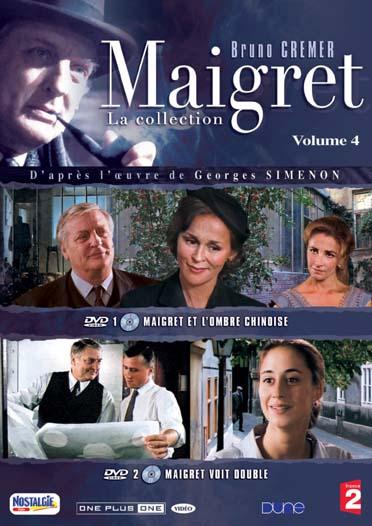 MAIGRET, VOL. 4 : MAIGRET ET L'OMBRE CHINOISE ; MAIGRET VOIT DOUBLE