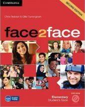 Face2face second edition student's book with dvd-rom elementary