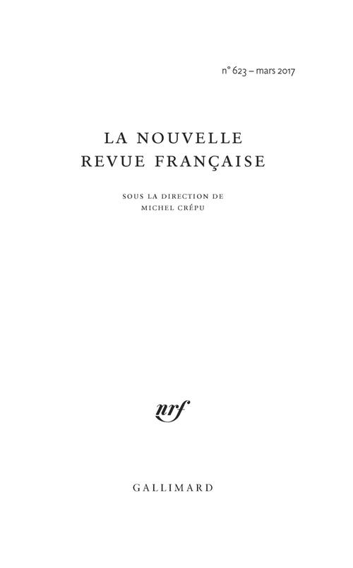 Marielle Macé, Styles. Critiques de nos formes de vie (Éd. Gallimard)