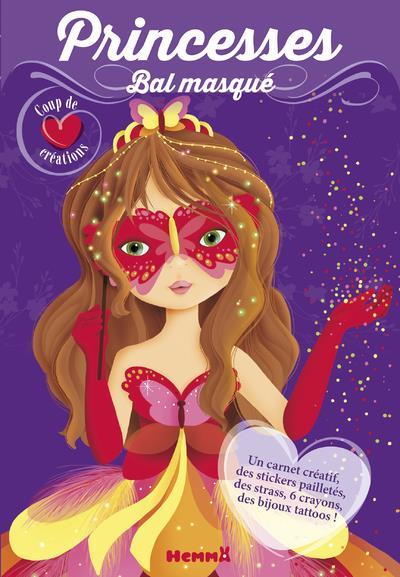 Princesses, bal masqué ; masque rouge