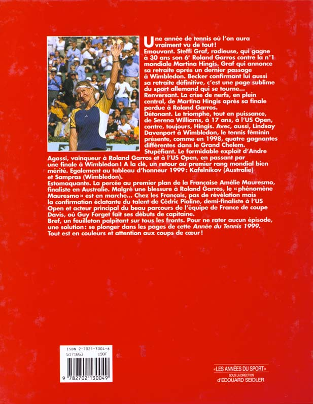 L'annee du tennis 1999