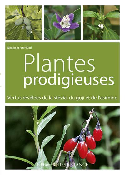 Plantes prodigieuses ; vertus révélées de la stévia, du goji et de l'asimine