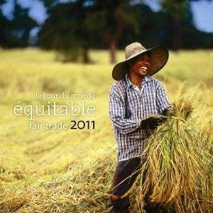 Le tour du monde équitable 2011 ; grand calendrier