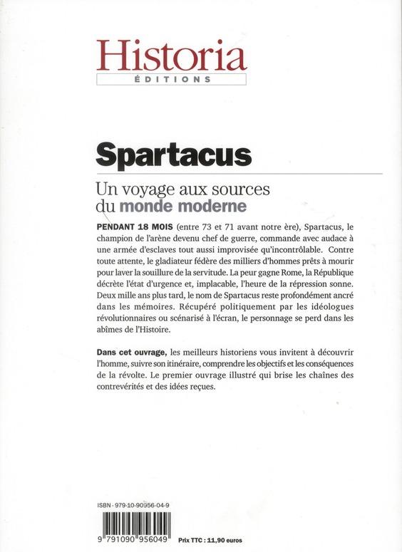 Spartacus ; l'esclave qui fait trembler rome