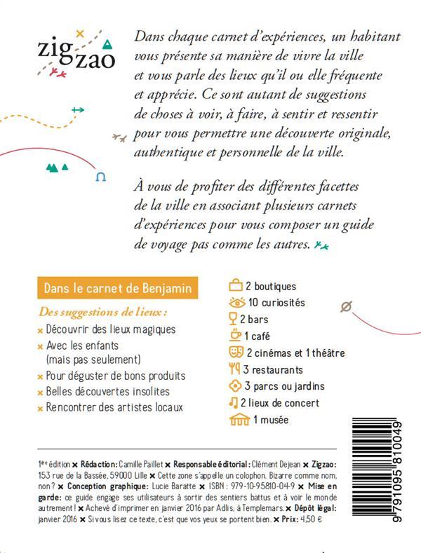 Le Lille de Benjamin - carnet d'expériences