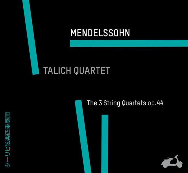 les trois quatuors à cordes op.44