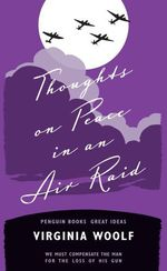 Vente Livre Numérique : Thoughts on Peace in an Air Raid  - Virginia Woolf