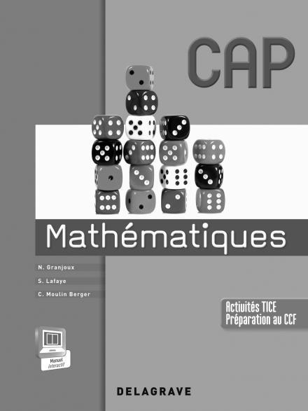 Mathématiques ; CAP industriels et tertiaires ; livre du professeur