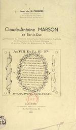 Claude-Antoine Marson, de Bar-le-Duc