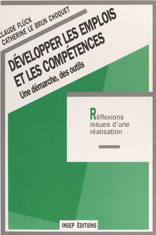 Developper emplois competences