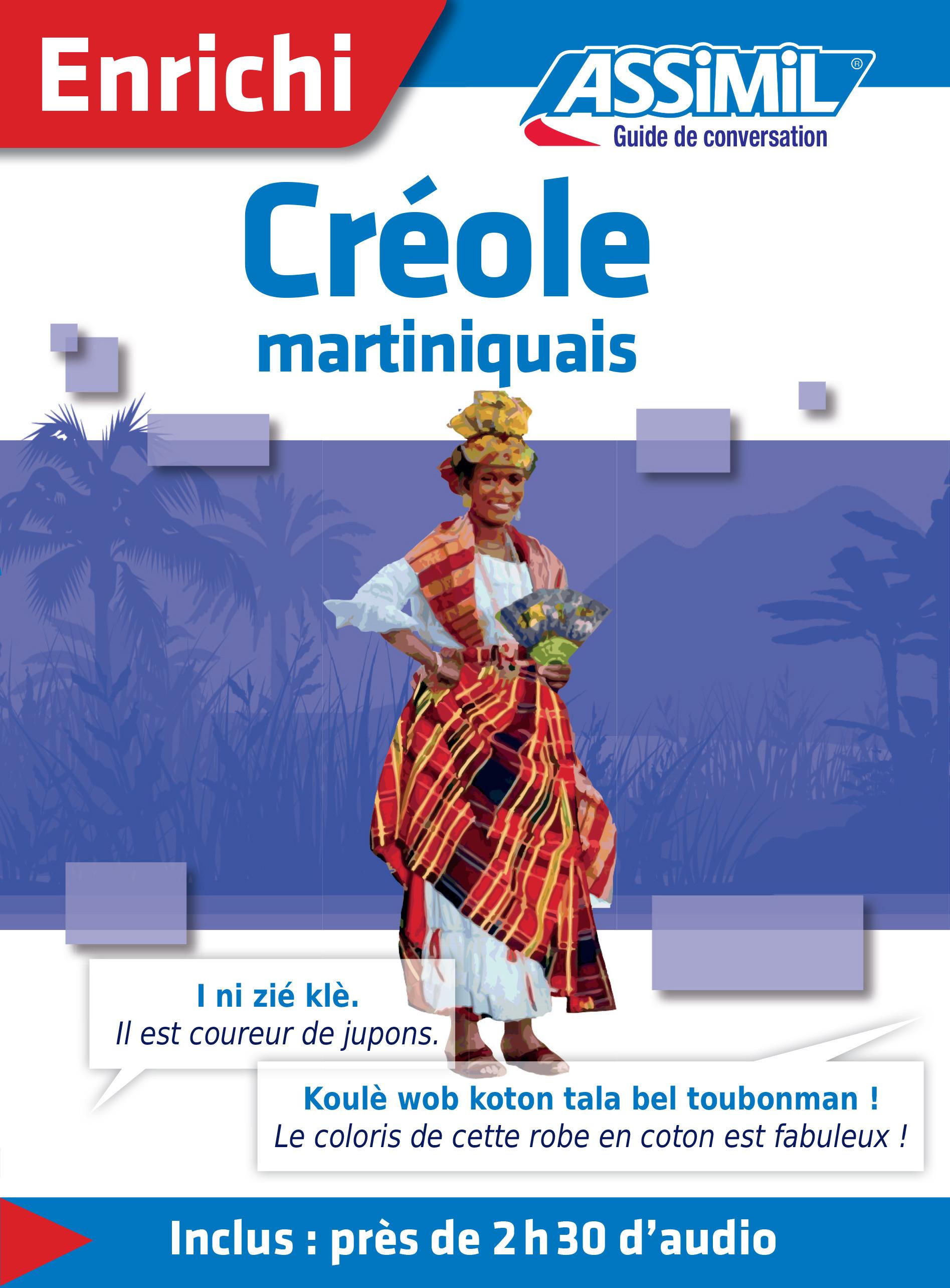 Créole martiniquais ; guide de conversation