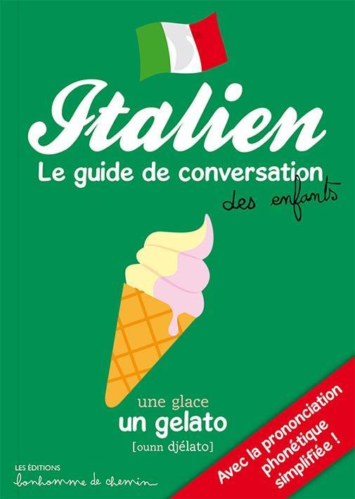 italien ; le guide de conversation des enfants