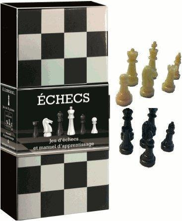 Echecs ; Jeu D'Echecs Et Manuel D'Apprentissage ; Coffret