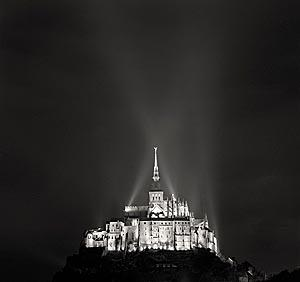 Michael kenna mont saint michel /anglais