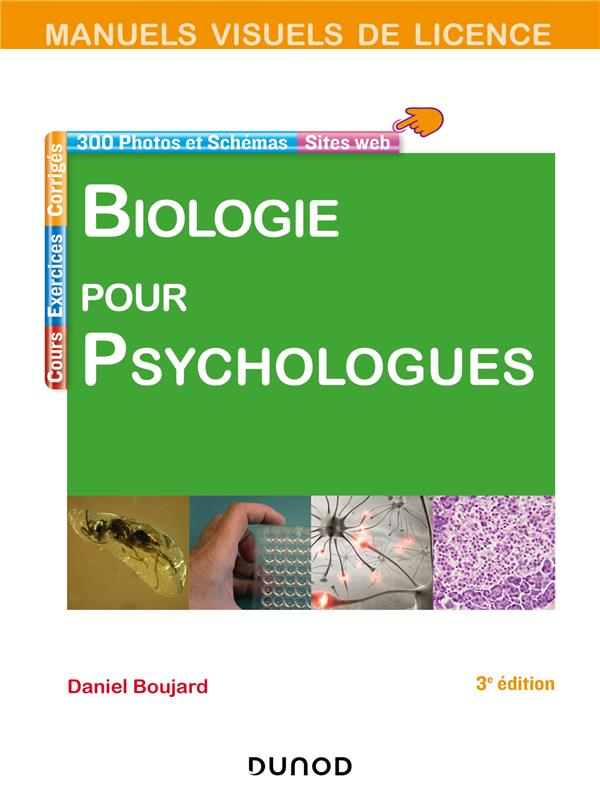 Biologie Pour Psychologues (3e Edition)