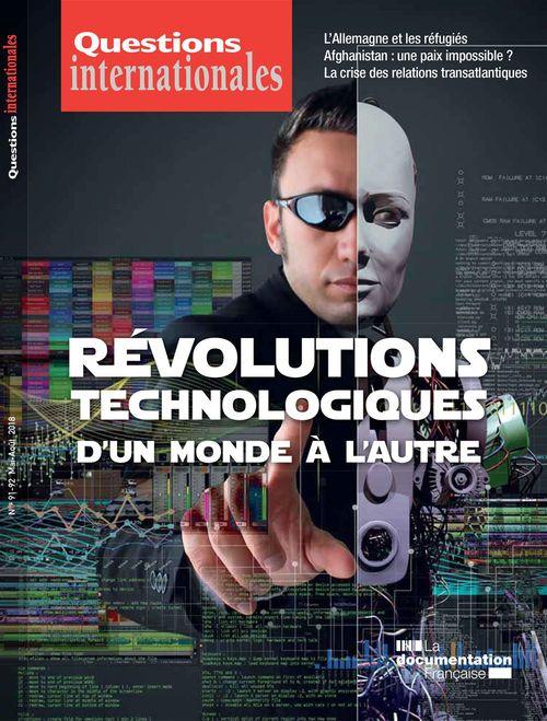 Révolutions technologiques : d'un monde à l'autre - n°91-92