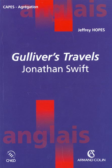 Jonathan swift ; gulliver's travels ; 1726